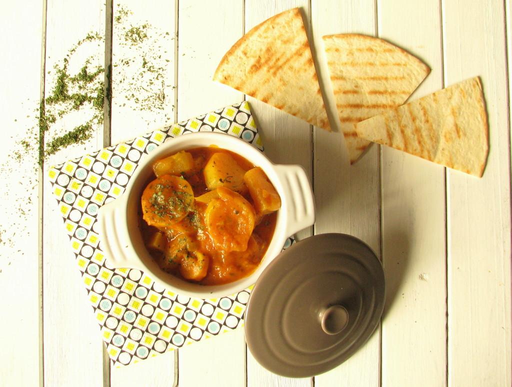 żółte curry