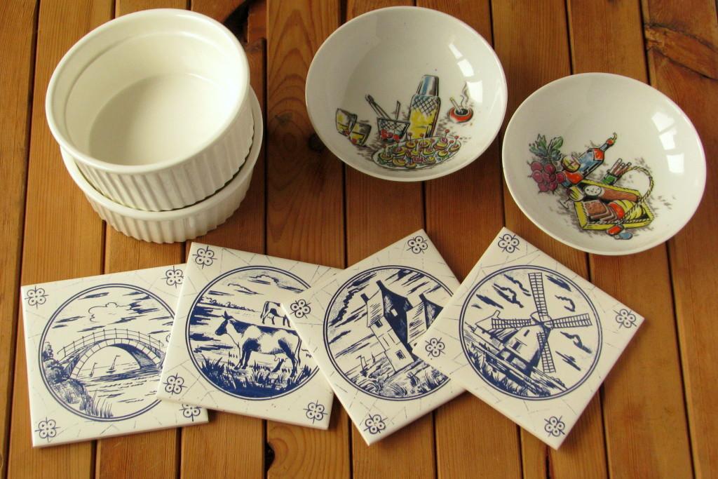 naczynia + płytki