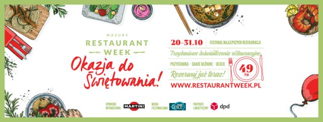Mazury Restaurant Week_Okazja do świętowania_cover